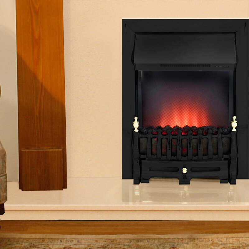 Moldova And Marfil Fireplace With Adam Ribbon Electric
