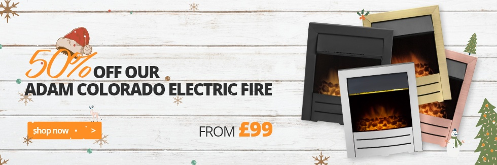 50% Off Colorado Electric Fire