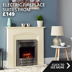 Electric Fireplace suites from £149