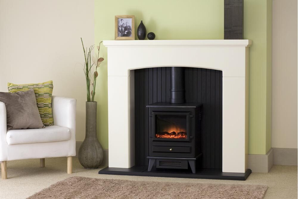 Electric Stove Fireplace Suite Electric Fireplace Stove