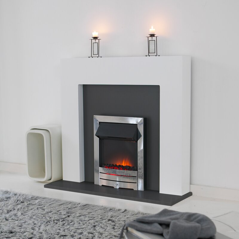 miami white with grey back panel hearth and colorado fire. Black Bedroom Furniture Sets. Home Design Ideas