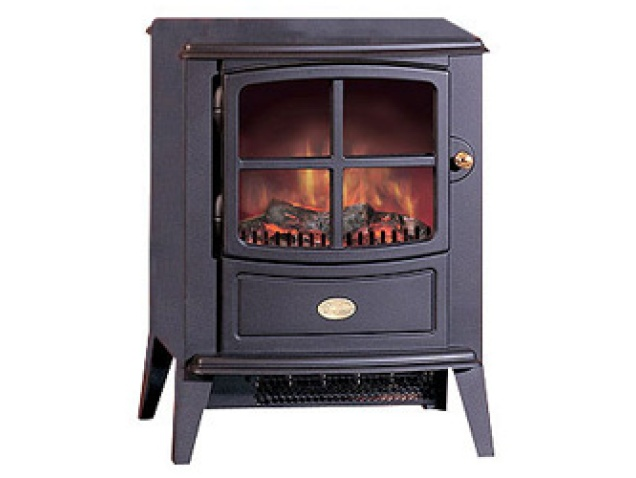 Black Electric Stove ~ Dimplex brayford electric stove in black fireplace world