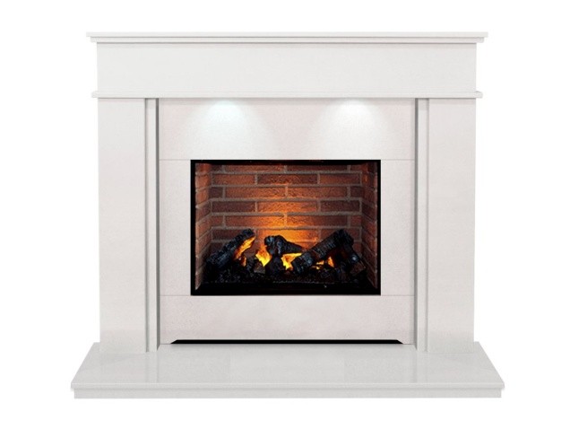 the-portland-optimyst-fireplace-suite-in-sparkly-white-54-inch