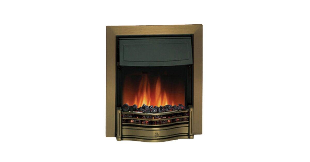 dimplex danesbury antique brass electric fire fireplace world rh fireplaceworld ie