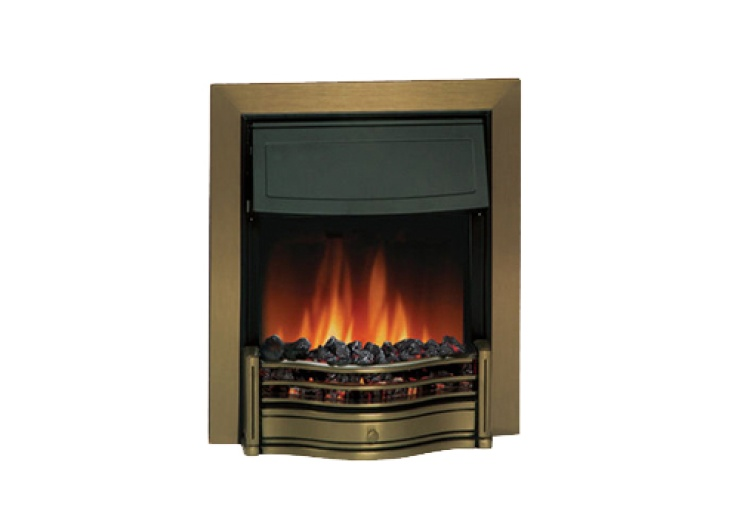 dimplex danesbury antique brass electric fire fireplace world rh fireplaceworld ie