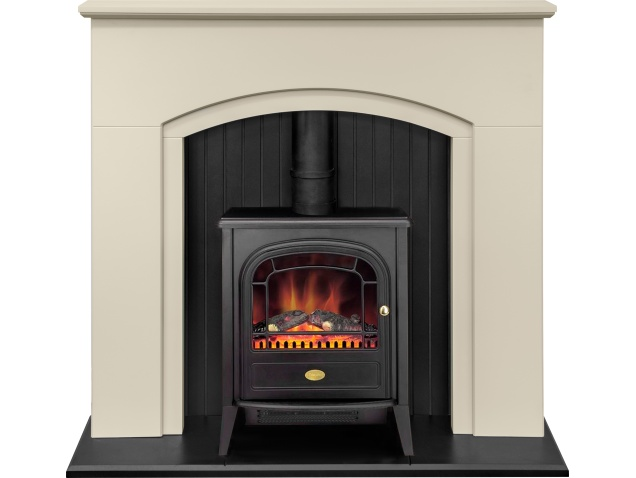 adam madison stove suite in stone effect with dimplex club electric rh fireplaceworld co uk