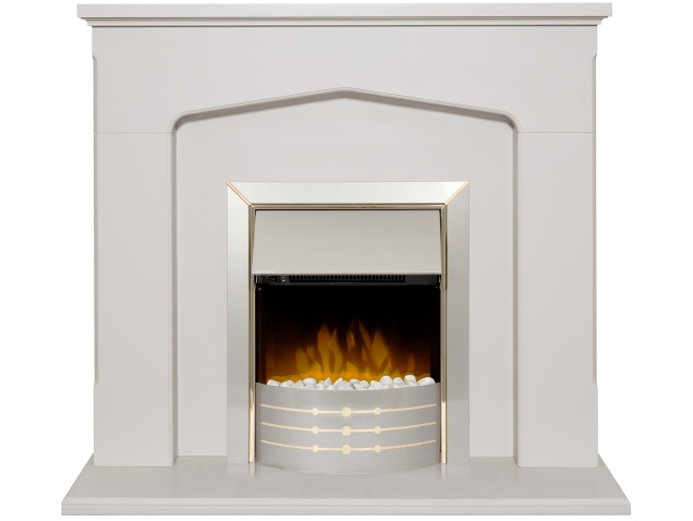 adam cotswold fireplace suite stone effect with dimplex aspen rh fireplaceworld co uk