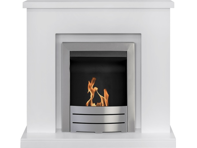 adam-lomond-fireplace-suite-in-pure-white-with-colorado-bio-ethanol-fire-in-brushed-steel-39-inch