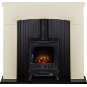adam-derwent-stove-suite-in-cream-with-aviemore-electric-stove-in-black-48-inch