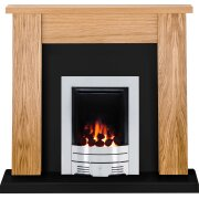 the-new-england-oak-black-granite-with-crystal-diamond-contemporary-fire-brushed-steel-54-inch