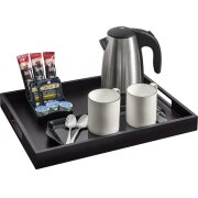 richmond-compact-hospitality-tray-set-black-(0.6l-kettle-ascot-sachet-holder)