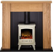 adam-new-england-stove-suite-in-oak-with-aviemore-electric-stove-in-cream-enamel-48-inch
