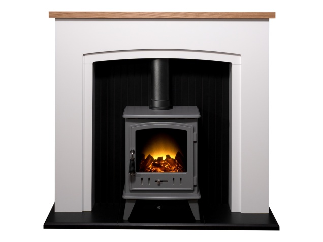 adam-siena-stove-suite-in-pure-white-with-aviemore-electric-stove-in-grey-enamel-48-inch