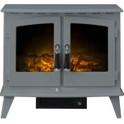 adam-woodhouse-electric-stove-in-grey-with-straight-stove-pipe