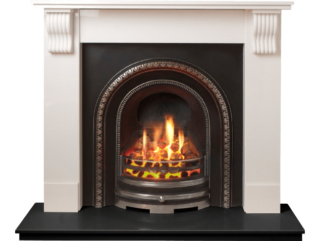 The Tewkesbury Suite In White Stone With Bedford Back