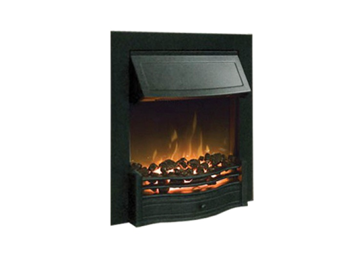 dimplex danesbury electric fire in black fireplace world rh fireplaceworld ie