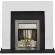 adam-miami-fireplace-in-pure-white-black-marble-with-helios-fire-in-brushed-steel-48-inch