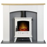 adam-huxley-in-pure-white-grey-with-aviemore-electric-stove-in-white-enamel-39-inch