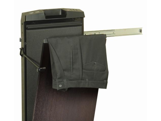 Corby 4400 Black Ash Space Saver Trouser Press That Slides To Right Trouser Press