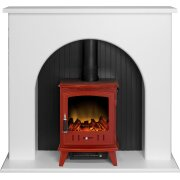 adam-kirkham-stove-suite-in-pure-white-with-aviemore-electric-stove-in-red-enamel-48-inch