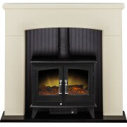 adam-derwent-stove-suite-in-cream-with-woodhouse-electric-stove-in-black-48-inch