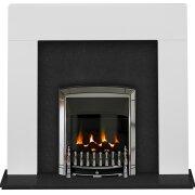 the-miami-in-pure-white-black-granite-with-valor-dream-balanced-flue-gas-fire-in-chrome-48-inch