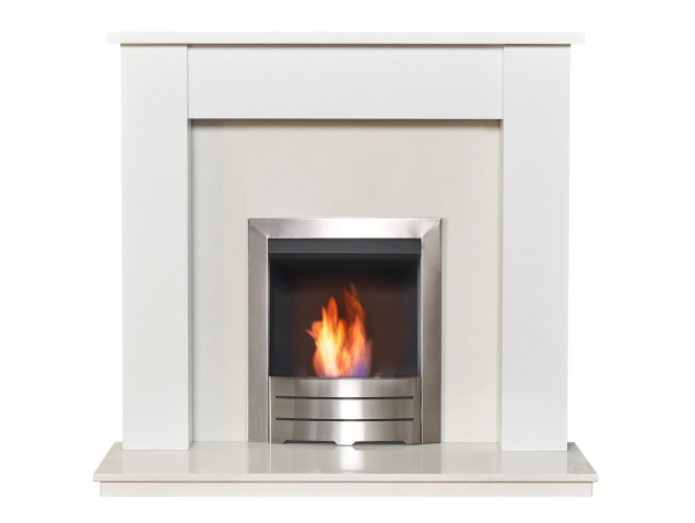 adam-buxton-pure-white-white-marble-fireplace-with-colorado-bio-ethanol-fire-in-brushed-steel-48-inch