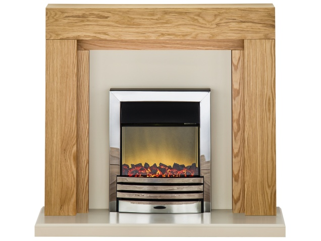 adam-beaumont-fireplace-suite-in-oak-with-eclipse-electric-fire-in-chrome-48-inch