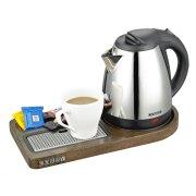 buckingham-compact-welcome-tray-(buckingham-1l-chrome-cordless-kettle-)-dark-wood-(case-qty-12)