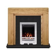 the-beaumont-fireplace-in-oak-granite-with-crystal-gem-gas-fire-in-chrome-54-inch