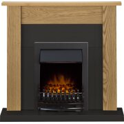 adam-southwold-fireplace-suite-in-oak-and-black-with-blenheim-electric-fire-in-black-43-inches