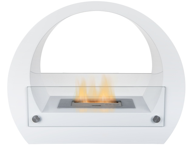 the-sphere-bio-ethanol-fireplace-suite-in-pure-white-25-inches