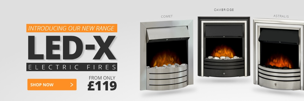 LED-X Electric Fire Range