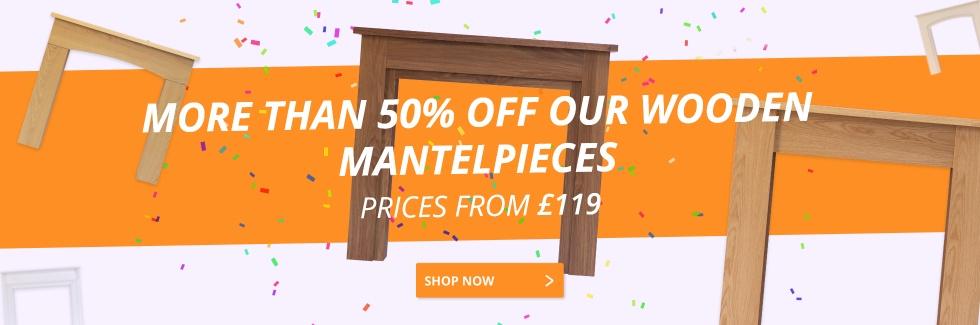 Wooden Mantelpieces
