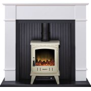 adam-oxford-stove-suite-in-pure-white-with-aviemore-electric-stove-in-cream-enamel-48-inch