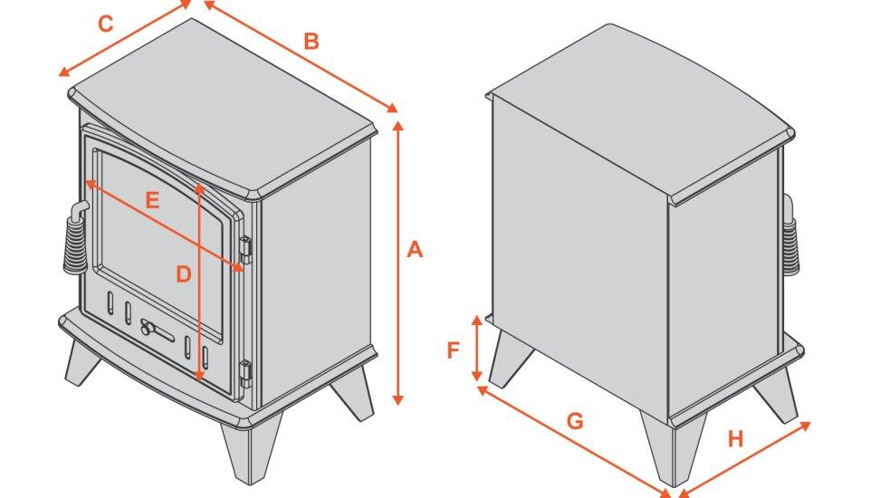 adam-aviemore-electric-stove-in-black-enamel Diagram