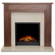 adam-sudbury-fireplace-in-walnut-beige-marble-with-downlights-ontario-electric-fire-in-black-48-inch
