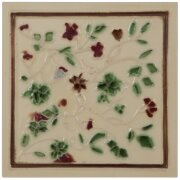 the-tubelined-red-and-green-floral-fireplace-tiles-in-cream-by-carron-set-of-10