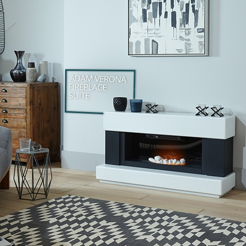 Adam Verona Fireplace Suite