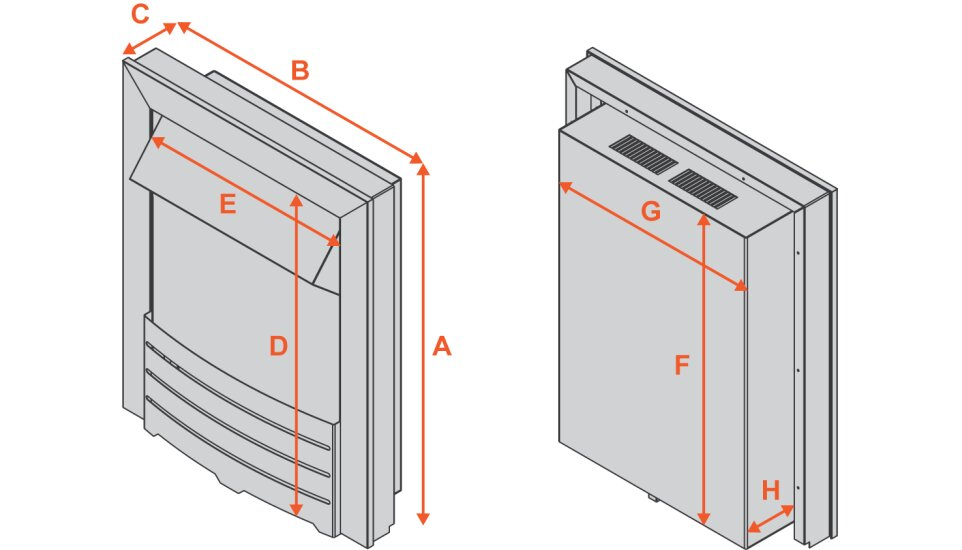 dimplex-elda-electric-fire-in-brushed-steel Diagram