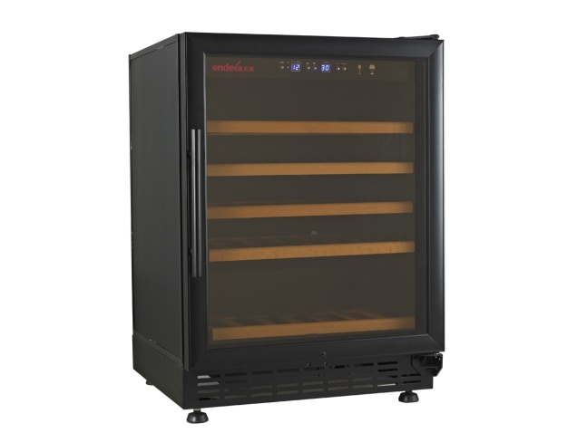 the-endeva-25-50-wine-bottle-cooler-with-glass-door