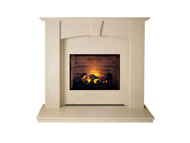 the-devon-optimyst-fireplace-suite-in-roman-stone-48-inch