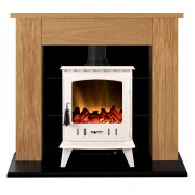 adam-chester-stove-suite-in-oak-with-aviemore-electric-stove-in-white-enamel-39-inch