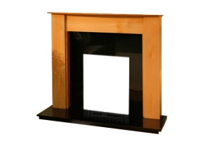 Wooden and Stone Fireplaces