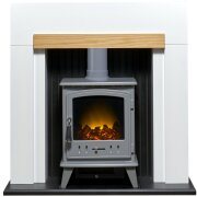 adam-salzburg-in-pure-white-oak-with-aviemore-electric-stove-in-grey-enamel-39-inch