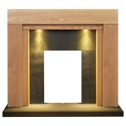 adam-beaumont-oak-black-fireplace-with-downlights-48-inch