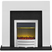 adam-miami-fireplace-in-pure-white-black-marble-with-colorado-electric-fire-in-chrome-48-inch