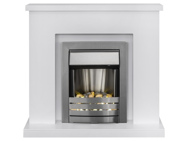 adam-lomond-fireplace-suite-in-pure-white-with-helios-electric-fire-in-brushed-steel-39-inch