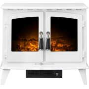 adam-woodhouse-electric-stove-in-pure-white-with-angled-stove-pipe-in-black