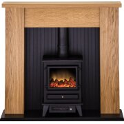 adam-new-england-stove-suite-in-oak-with-hudson-electric-stove-in-black-48-inch